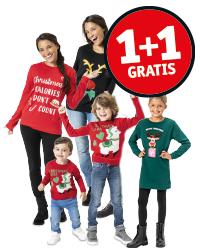 1+1 op alle kersttruien @ Kruidvat.nl en Kruidvat winkels