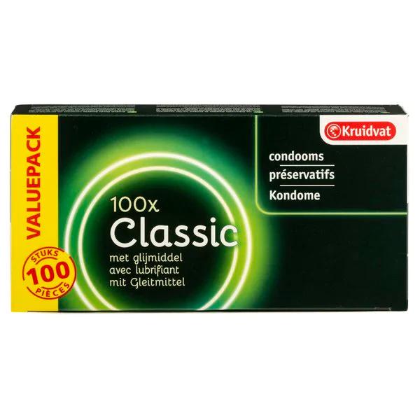 100 Kruidvat Classic Condooms voor €25