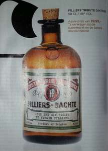 Grensdeal België - Filliers Tribute Gin 1928 / 48% / 5 cl