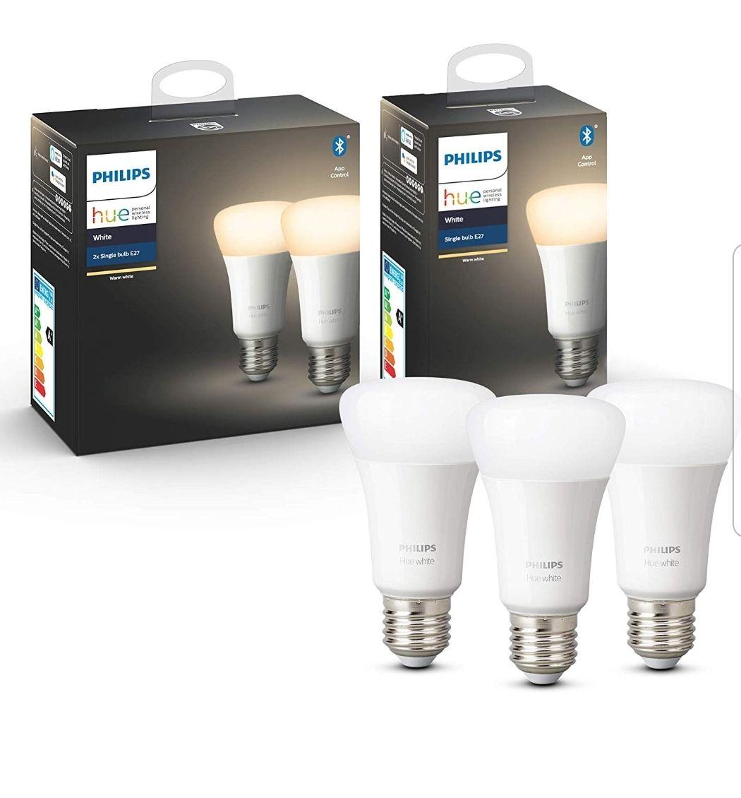 Philips hue white set van 3 lampen.