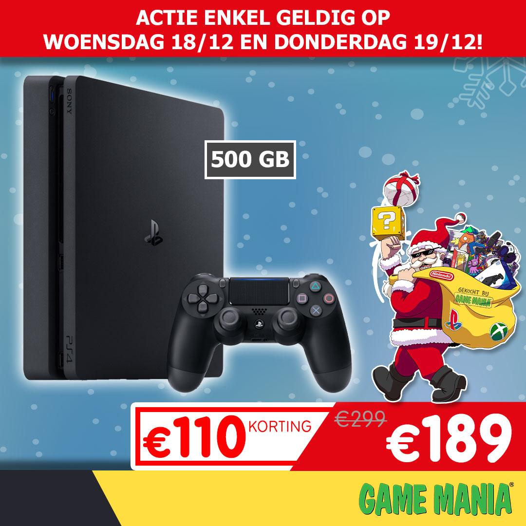 Sony PlayStation 4 Slim 500GB @ Game Mania