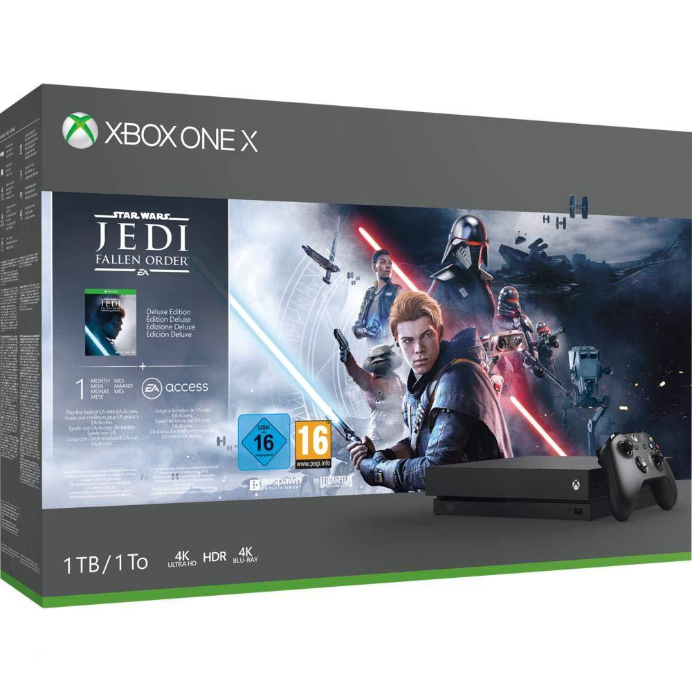 Xbox One X 1TB – Star Wars Jedi: Fallen Order of FH4 LEGO Speed Champions of Bundle @ Amazon.de