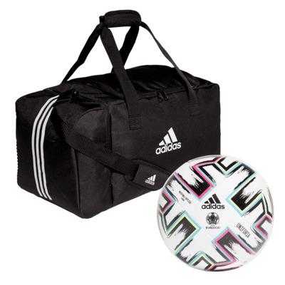 adidas voetbal EURO 2020 & tas set + gratis verzending met code à €9,95 @ Geomix