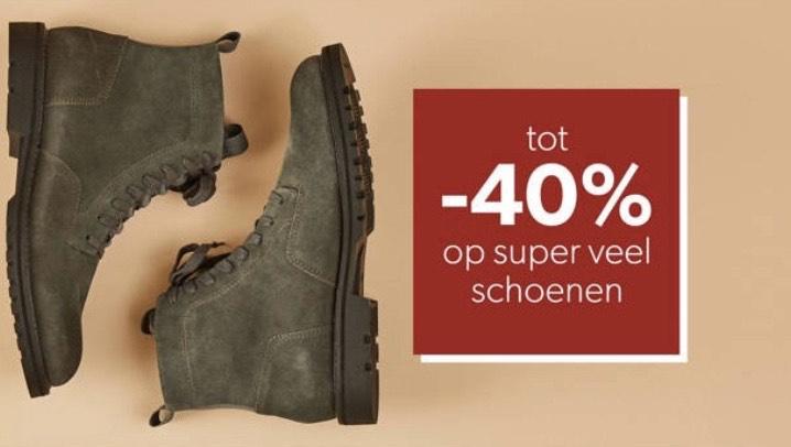 Heren schoenen tot 40% korting