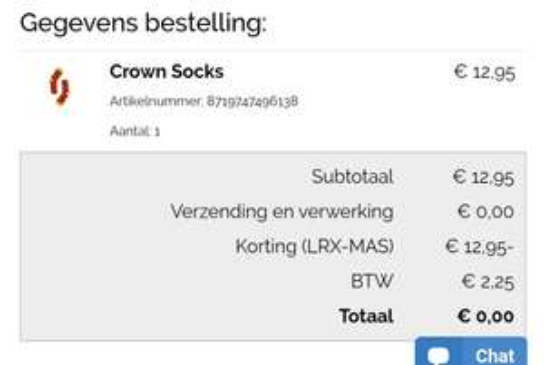 [PRIJSFOUT] Gratis sokken @lureaux.com