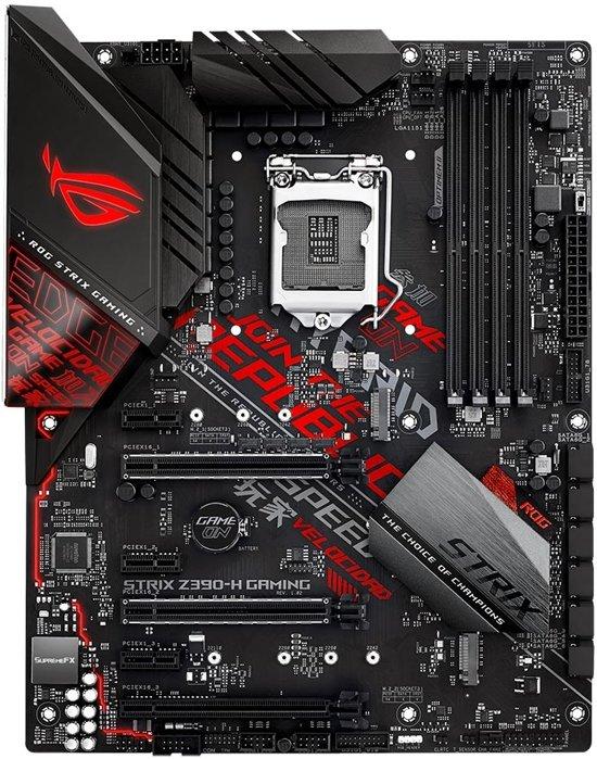 ASUS ROG STRIX Z390-H GAMING moederbord €99,95 @Bol