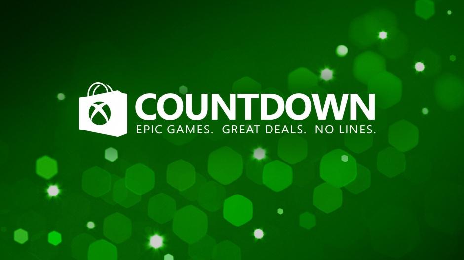 Countdown Sale vanaf nu tot en met 2 januari @ Xbox Store