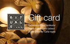 Rituals cadeaukaarten met 10% korting @ Wissel.nl