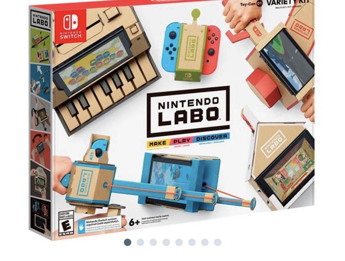 Nintendo Switch Labo Toy-Con 01 Variety kit pakket [ Wehkamp/BCC ]