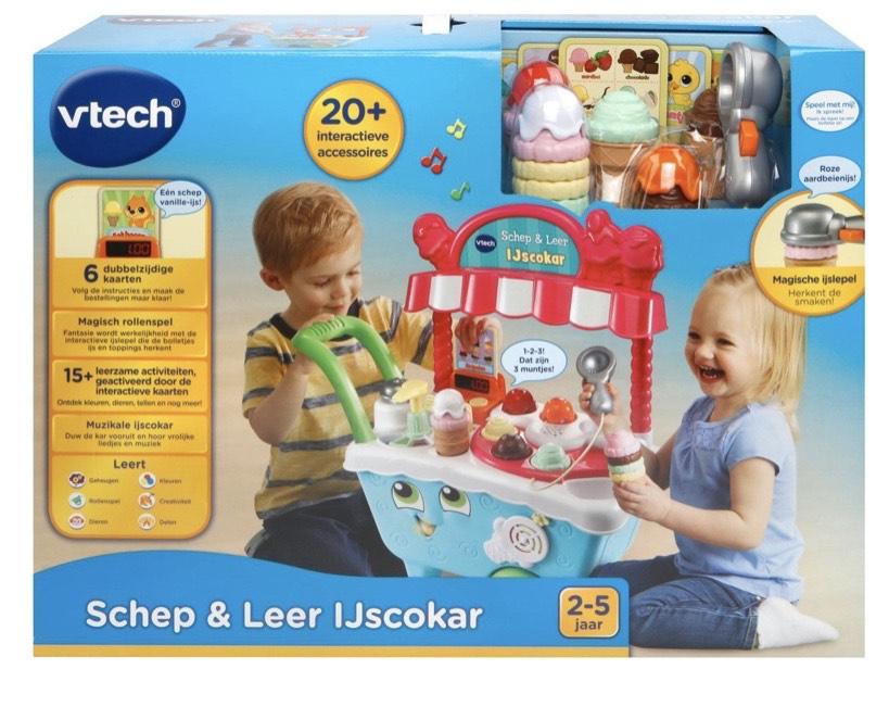 VTech Preschool Schep & Leer Ijscokar