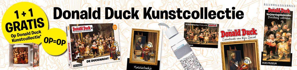 Donald Duck Kunstcollectie assortiment 1+1
