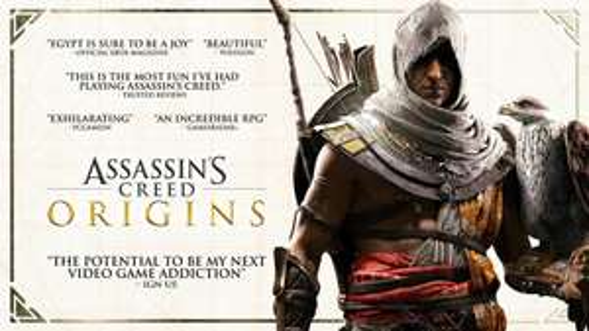 Assassin's Creed Origins (PC) voor 4,99 via EPIC GAMES