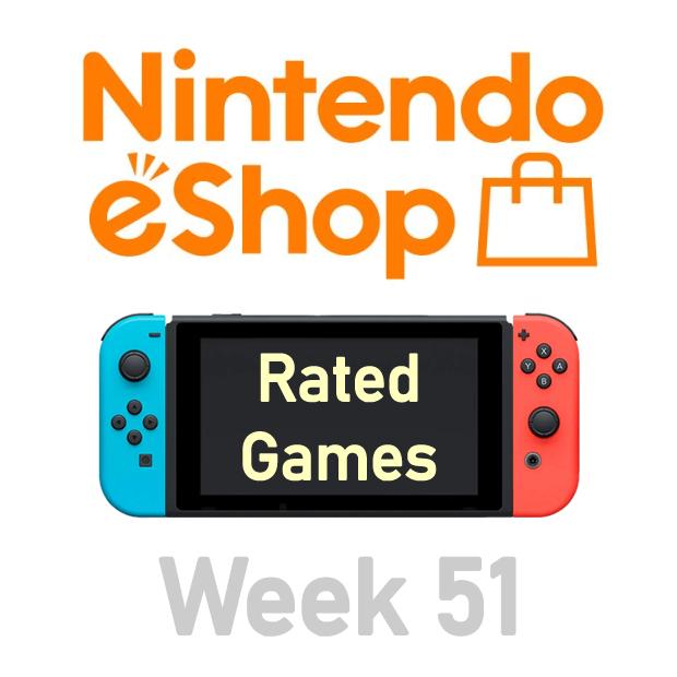 Nintendo Switch eShop aanbiedingen 2019 week 51 (deel 1/2) games met Metacritic score