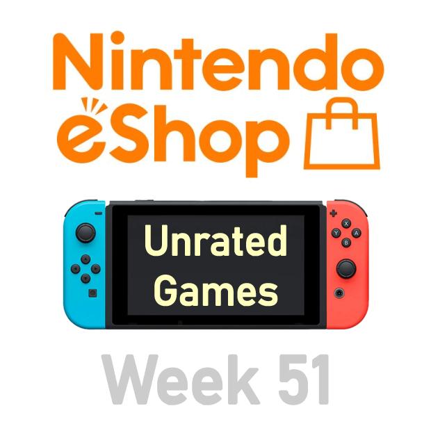 Nintendo Switch eShop aanbiedingen 2019 week 51 (deel 2/2) games zonder Metacritic score