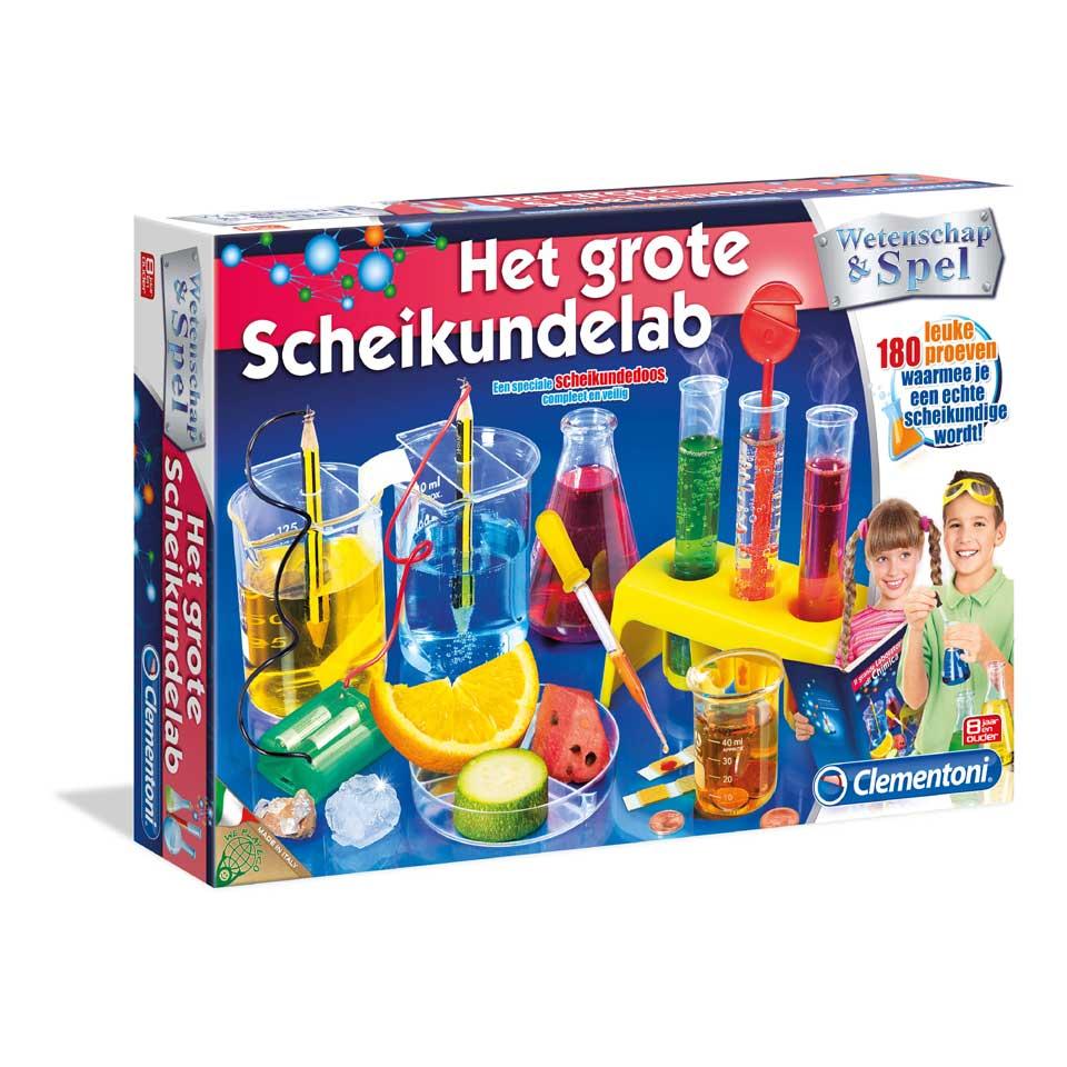 Wetenschap & Spel: Het grote Scheikundelab voor €17 @ Bart Smit