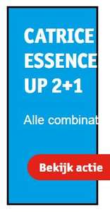 Kruidvat weekenddeal: Catrice of Essence 2+1 gratis