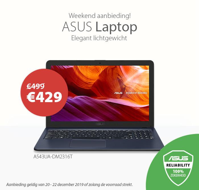 Asus A543UA-DM2316T laptop @ Asus Store