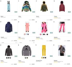 SALE - veel wintersport 70% korting @ A.S. adventure