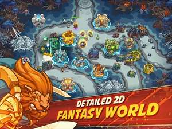 Gratis Empire Warriors Premium Tower Defense Game (was €2.49)