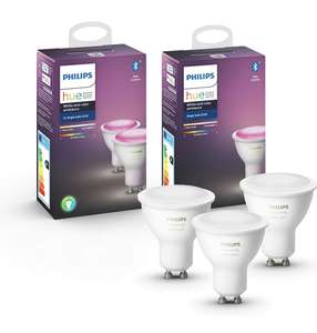 Philips Hue GU10 White and Color Ambiance 3-pack nieuwste versie met bluetooth
