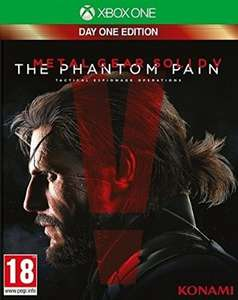 Xbox One Metal Gear Solid V: The Phantom Pain - Day One Edition voor €40,59 @ Amazon.de