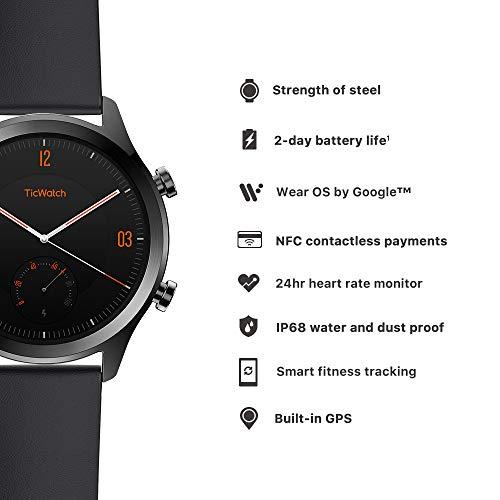 Ticwatch C2 Smartwatch. Google Wear OS.