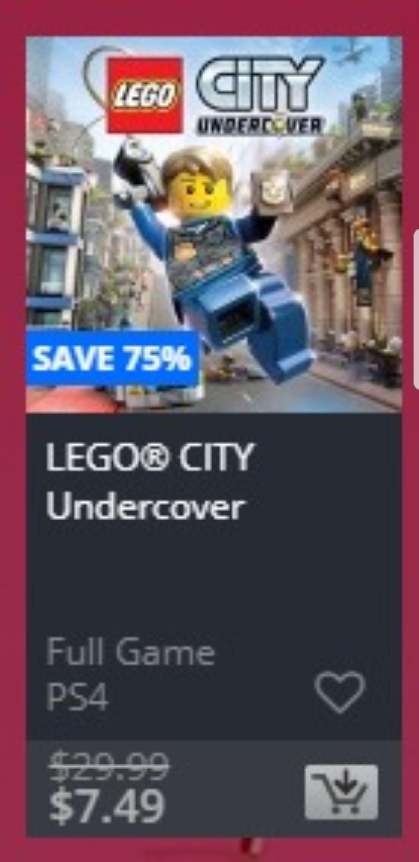 (PS4) Lego Undercover USA Versie