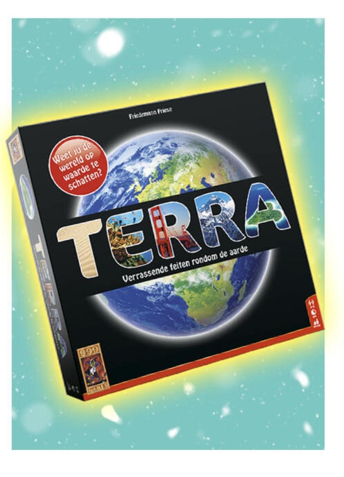 Spelend leren met Terra. Van 29,99 voor maar 20 euro!