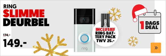 Ring Video Doorbell 2 + RING Quick Release Battery Pack @ Media Markt