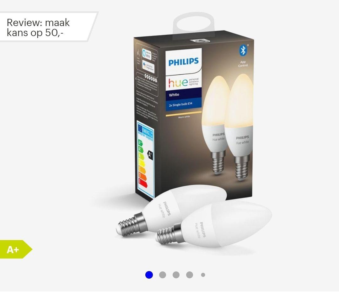 Philips Hue White duopack E14