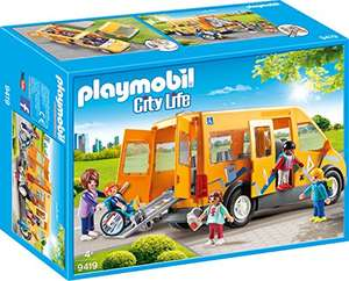 Playmobil schoolbus 9419