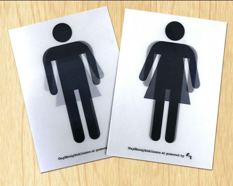[GSA Netwerk] Diverse gratis items met o.a genderdiverse toiletsticker(s) pakket + gratis verzending