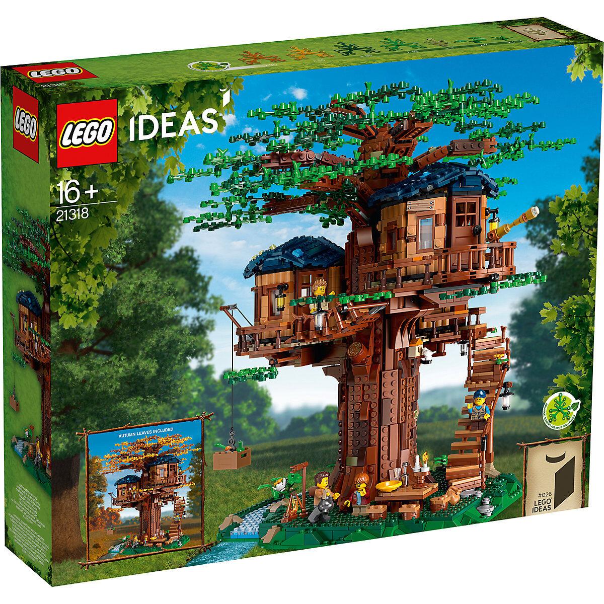 Laagste prijs ooit! Lego 21318 boomhuis