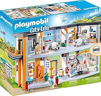 Verschillende Playmobil hoge korting. O.a. Groot ziekenhuis - 70190 Laagste prijs ooit! Alleen met PRIME.