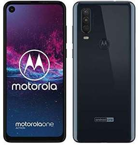 Motorola one Action, kleur: wit (android one telefoon!)
