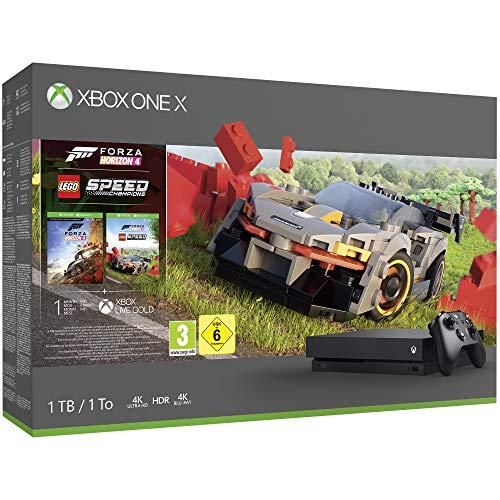 Xbox One X 1TB Forza 4 + LEGO DLC @Amazon.fr