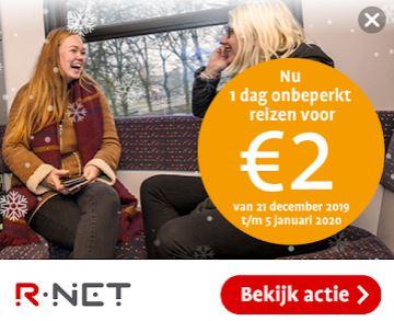 GouweTicket actie: Eén dag onbeperkt reizen tussen Gouda en Alphen aan den Rijn