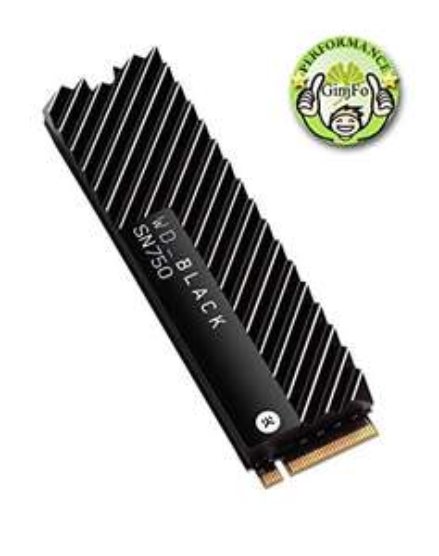 WD Black NVMe SSD SN750 1TB (met heatsink) @Amazon.es