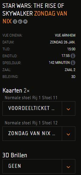 Voor €7 met je puber naar VUE Arnhem op zondag 26 januari 2020