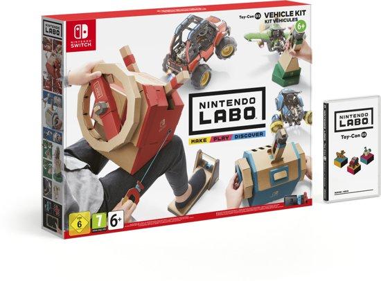 Grensdeal Nintendo Labo Voertuigenpakket MediaMarkt Duitsland