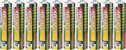 10 oplaadbare AAA batterijen (potlood) 4,75€