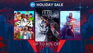 Humblebundle EA Holiday Sale: o.a. Fifa20 (29,99€), Battlefield V (15,99€)