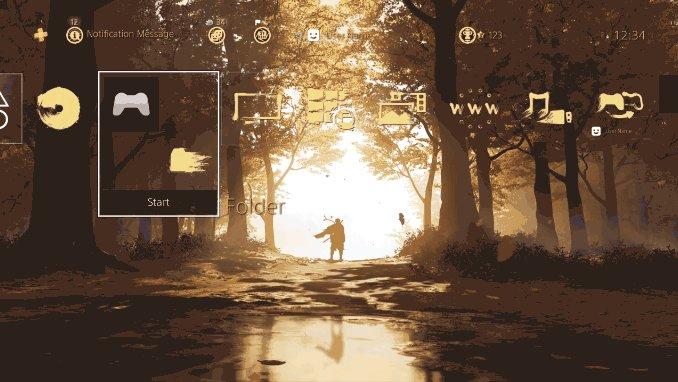 Gratis Ghost of Tsushima Dynamic Theme @ PSN