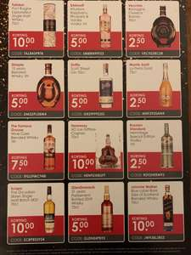 Korting bij drankdozijn.nl bij minimale besteding van 25 euro