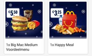 Happy Meal €3,25 & Big Mac menu voor €5,50 - Mcdonald's After party