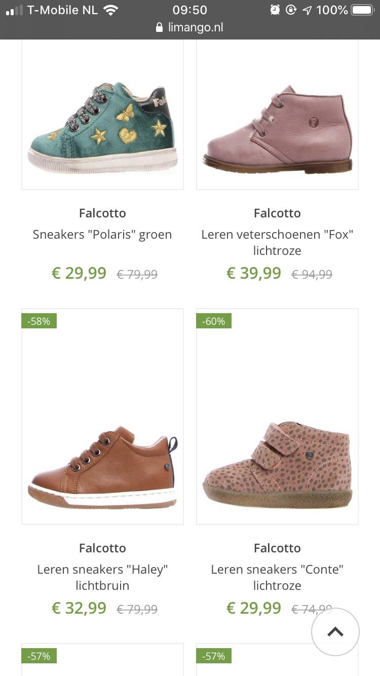 Falcotto peuter/baby schoenen
