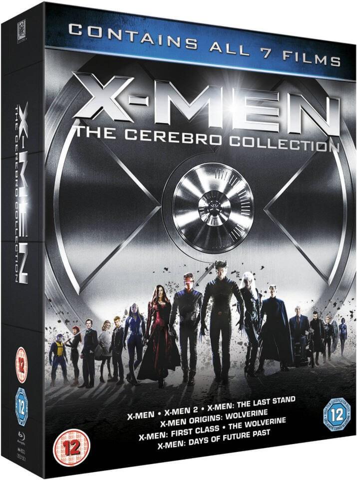 X-Men: The Cerebro Collection (Blu-ray) @ Zavvi
