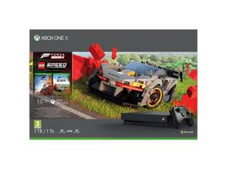 MICROSOFT Xbox One X + Forza Horizon 4 LEGO