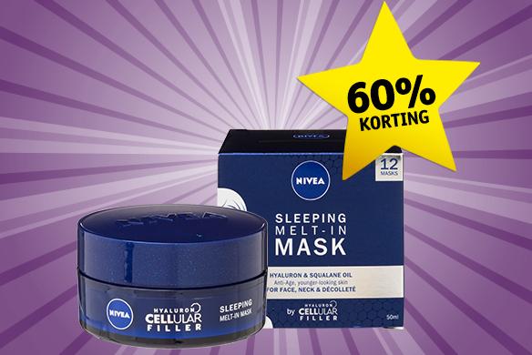Kruidvat Dagdeal: Nivea Nachtmaskers 60% korting