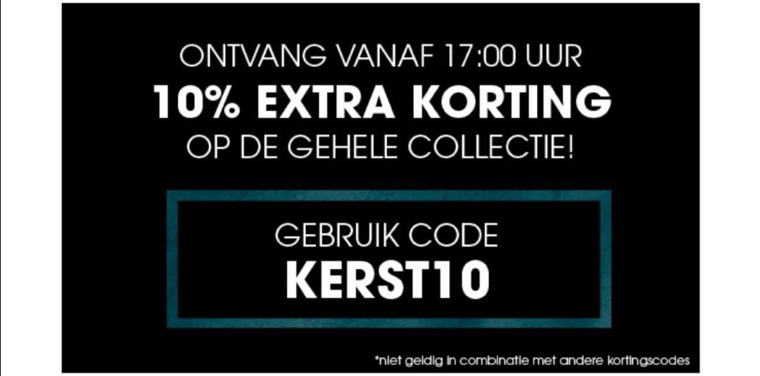 Extra korting 10% vanaf vandaag 17:00 bij Ziengs